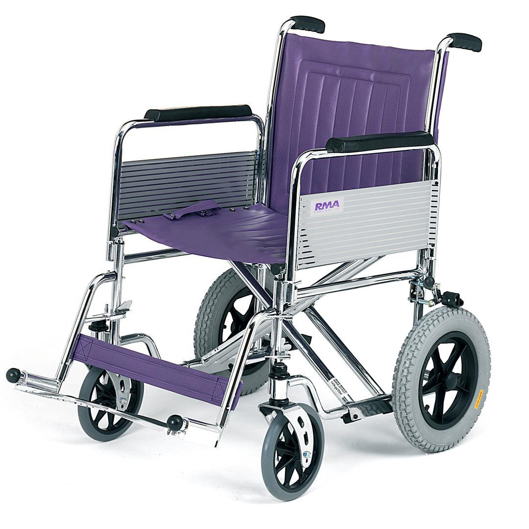 Roma heavy duty transit wheelchair