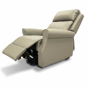 roma willow leather riser recliner chair