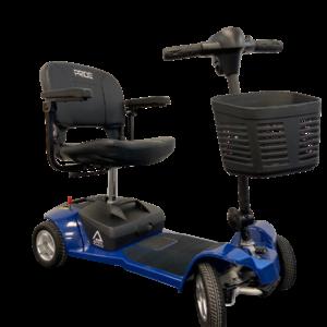 Pride Apex Alumalite Mobility Scooter - Blue