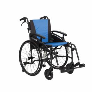 Vanos Excel G-Logic Self Propel Wheelchair - Blue